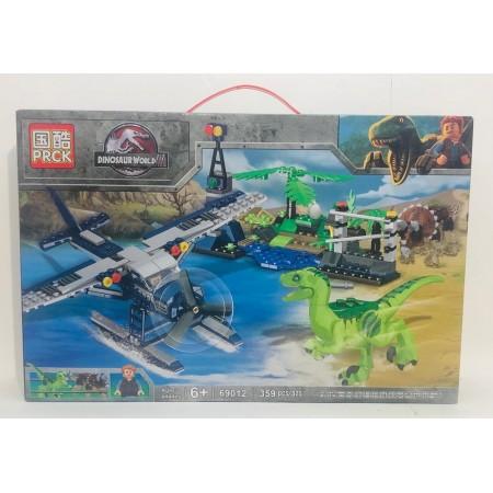Конструктор Динозавры 359 дет. 69012