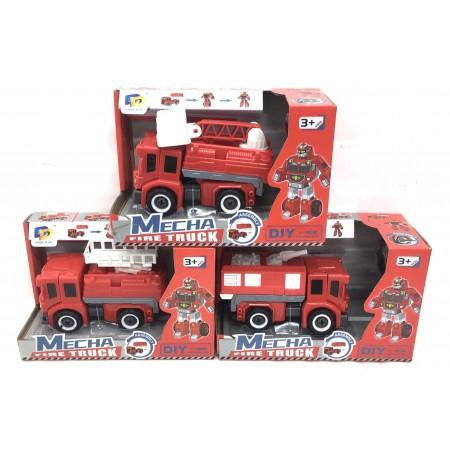 Пожарная Машина-Трансформер D622-H133ABC