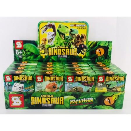 Конструктор Динозавры 16 шт. SY1500