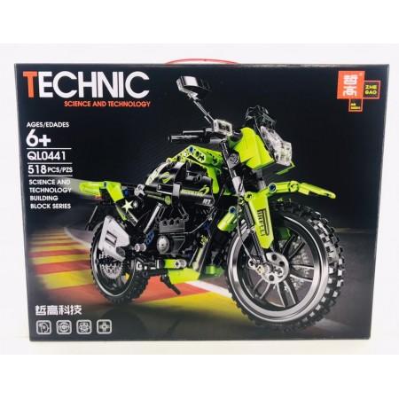 Конструктор Мотоцикл 518 дет. QL0441