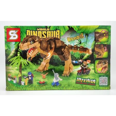 Конструктор Динозавры 589 дет. SY1507