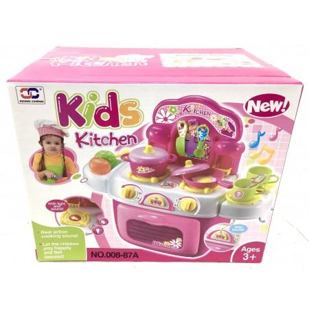Кухня с Посудой Набор 008-87A