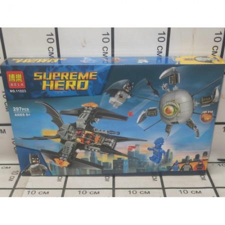Конструктор СуперГерои 297 дет. 11023
