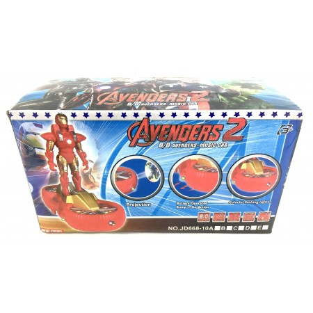 Супер Герой с Проектором (свет/звук) JD668-10