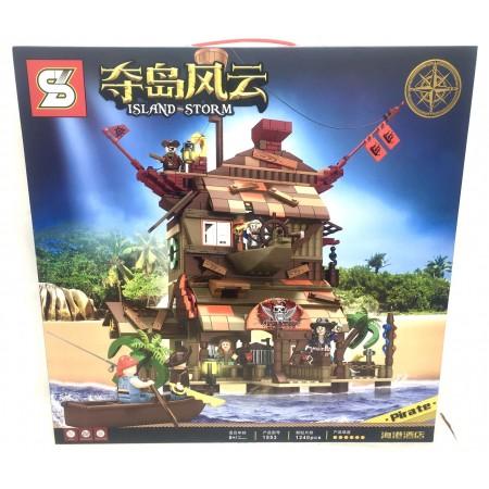 Конструктор Пираты 1240 дет. 1553