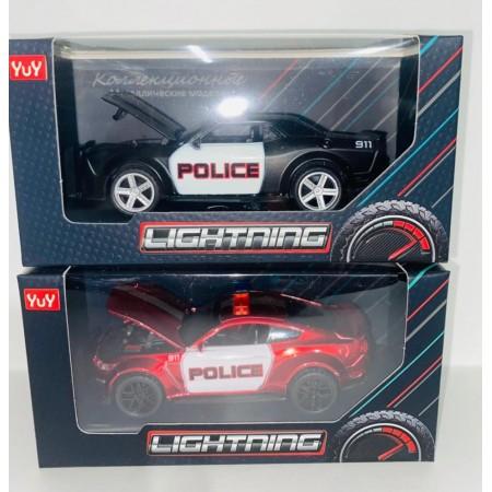 Машинка Полиция Металл YU7257B