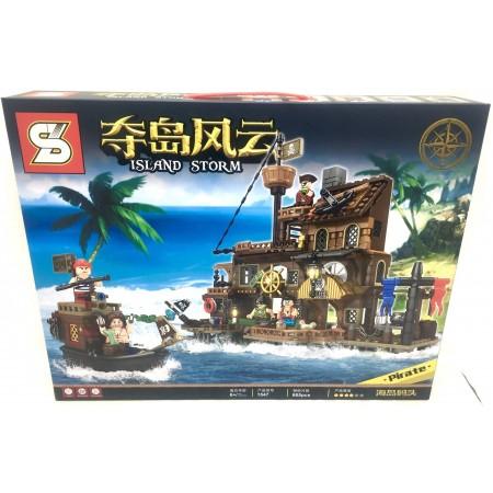 Конструктор Пираты 665 дет. 1547