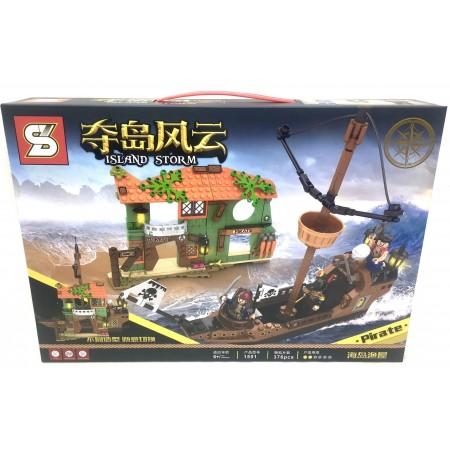 Конструктор Пираты 376 дет. 1551