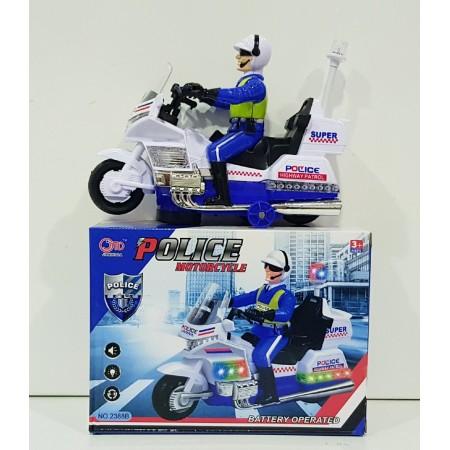 Полицейский На Мотоцикле (свет/звук) 2388B