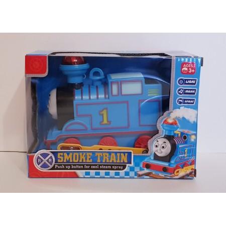 Поезд Томас с Дымом (глаза двигаются/свет/звук) 89027