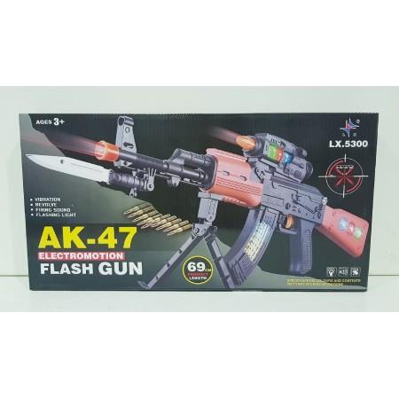 Автомат АК-47 (свет/звук) 5300