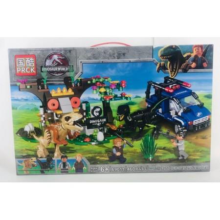 Конструктор Динозавры 460 дет. 69011
