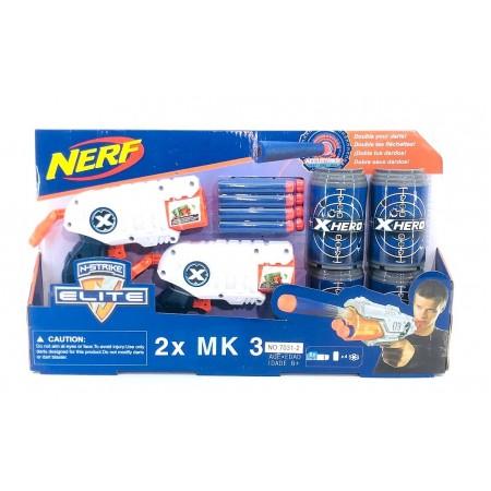 Пистолет Нерф Набор 7032-2