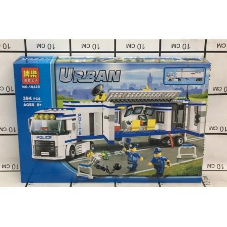 Конструктор Urban 394 дет. 10420