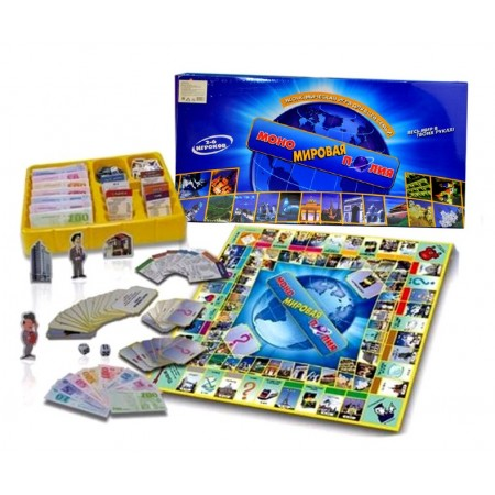 Игра Мировая Монополия 0134R-1