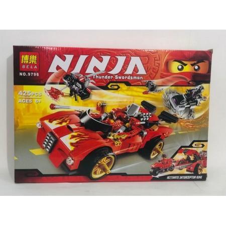 Конструктор Ниндзя 425 дет. 9796