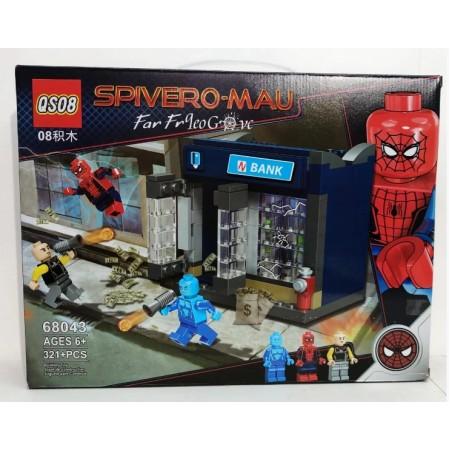 Конструктор Человек-Паук 321 дет. 68043