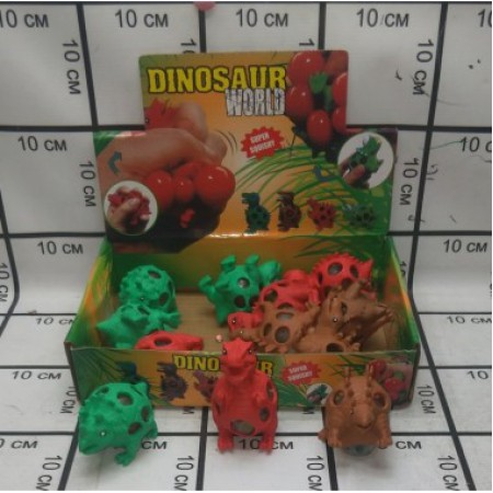Антистресс Динозавр 16 шт. 18B001