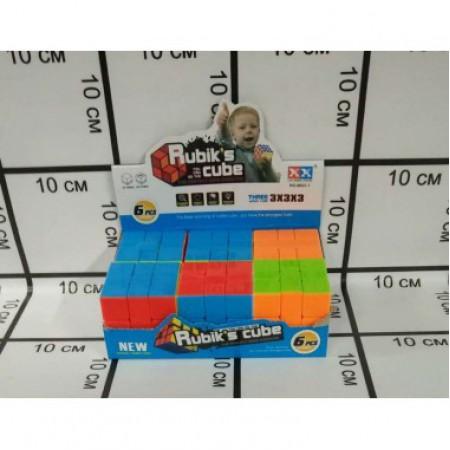 Кубик Рубика 6 шт. в блоке 8823-1 2188-14