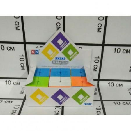 Кубик Рубика 6 шт. в блоке 8832-1A 2188-7