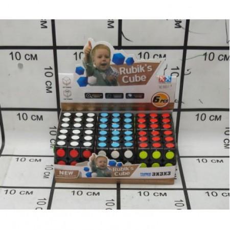 Кубик Рубика 6 шт. в блоке 8863-1/2188-19
