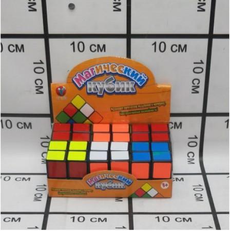 Кубик Рубика 6 шт. в блоке PK20422
