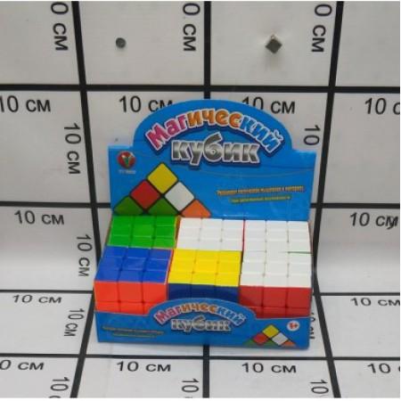 Кубик Рубика 6 шт. в блоке PK20423-4