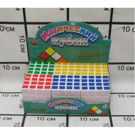 Кубик Рубика 6 шт. в блоке PK20424-1