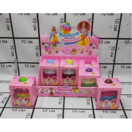 Кукла в кексе 6 шт. D6608-11