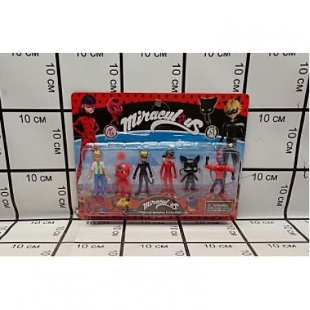 Леди Баг 6 героев на блистере 58602