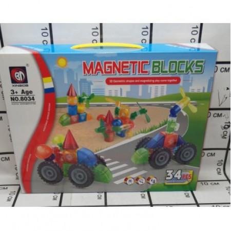 Магнитный Конструктор  8034