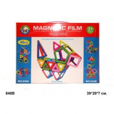 Магнитный конструктор 48 деталей 848AB