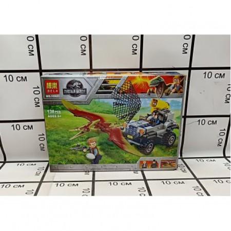 Конструктор Мир динозавров 138 дет 10921