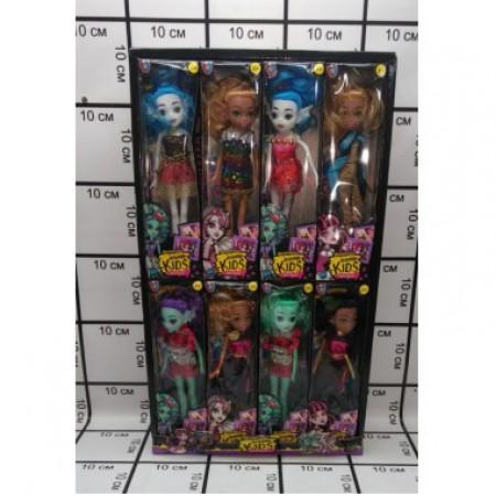 Куклы монстры 16 шт в блоке MG-1602