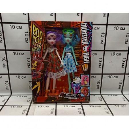 Кукла Монстр 2 куклы Шарнир MG-302