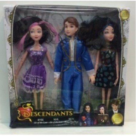 Набор из 3х кукол Наследники