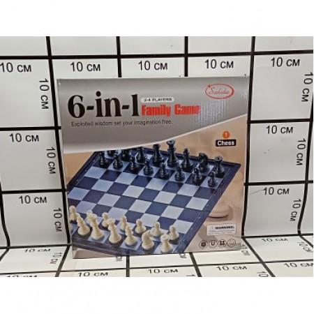 Набор Шахматы 6 в 1 6118