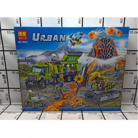 Конструктор Urban 860 дет. 10641