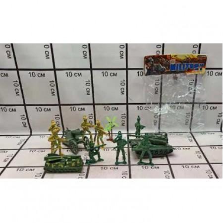 Набор Военной Техники С Солдатами 8819-16