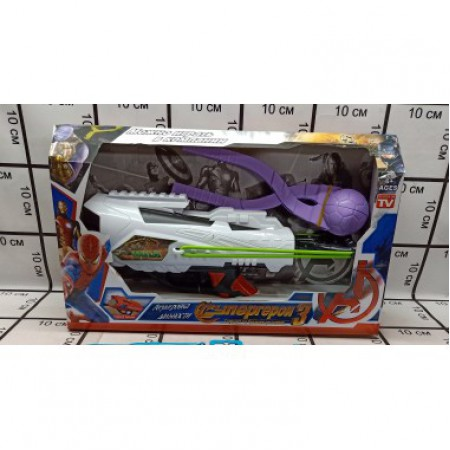 Снежкострел и снежколеп Супергерои набор 999-01