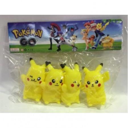 Покемоны резиновые в пакете LY-009