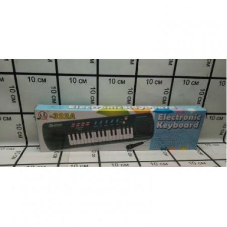 Синтезатор с микрофоном (звук) 322A