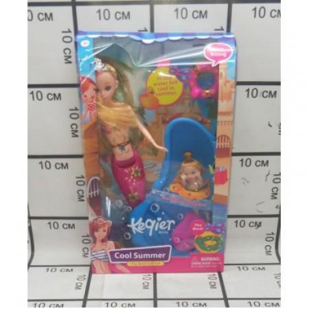 Кукла русалка с аксессуарами 68024