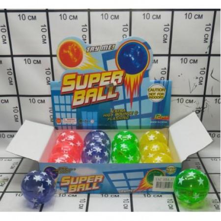 Супер мяч 12 шт в блоке 7.5wujiaoxing/HDA-57