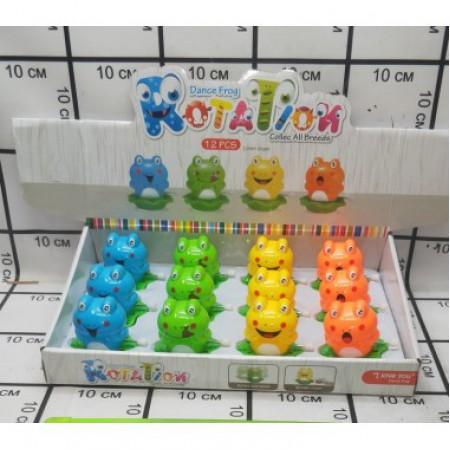 Заводная игрушка Лягушка 12 шт в блоке CL899