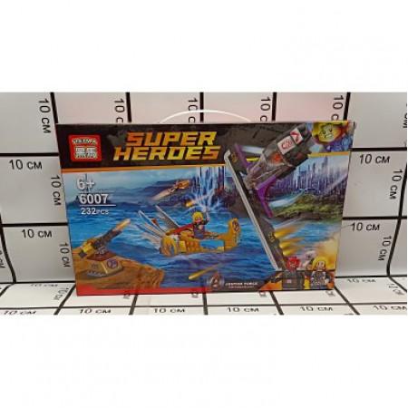 Конструктор Супергерои 232 дет 6007