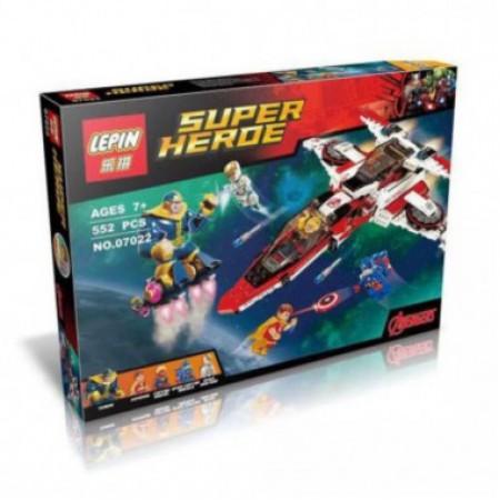 Конструктор Супер герои 552 дет.