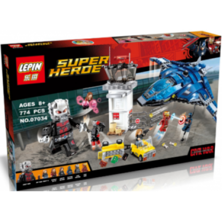 Конструктор Супер герои 858 дет.