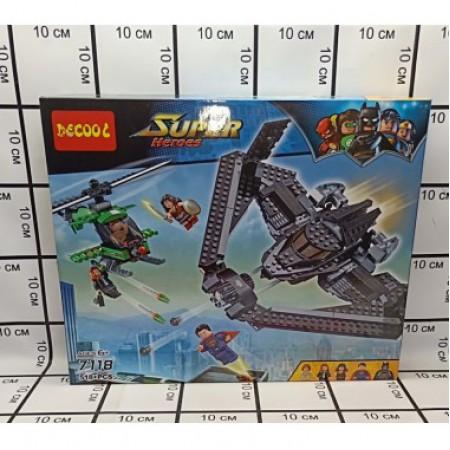 Конструктор Супергерои 518 дет. 7118