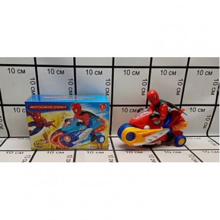 Человек-Паук на Мотоцикле (свет/звук) T9390